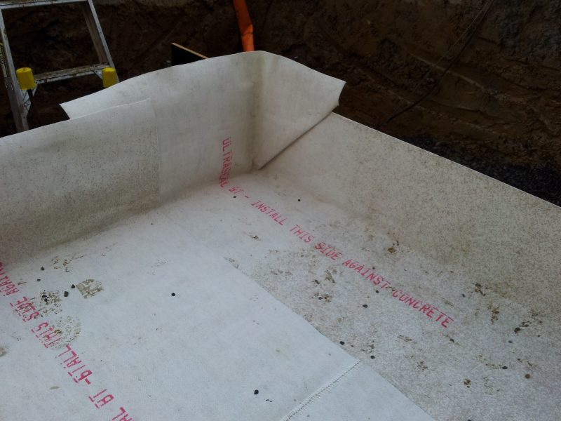 Bentonite Sheet Under Slab