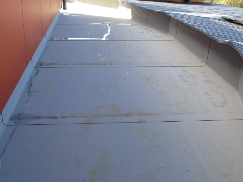 Grey Butynol Gutter