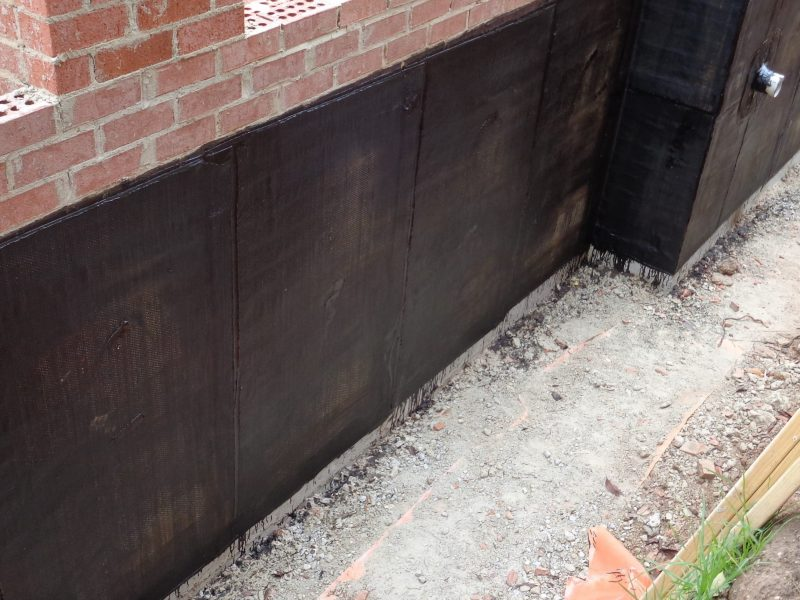 Retaining Wall Torch On